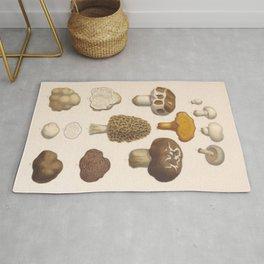 Naturalist Mushrooms Rug