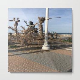 Beachfront Metal Print