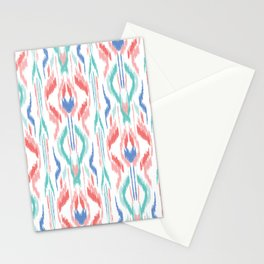 Sun Dress Ikat Stationery Cards