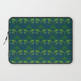 Green Wheat Floral Laptop Sleeve