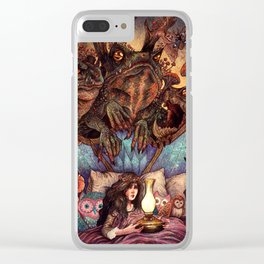 The Owl Princess And Her Night Terrors Clear iPhone Case