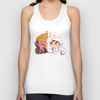 baking Tank Tops featuring Baking together by AMC Art