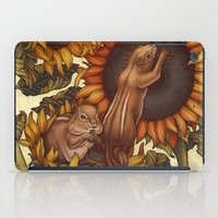 autumn iPad Cases featuring Autumn by Kate O'Hara Illustration