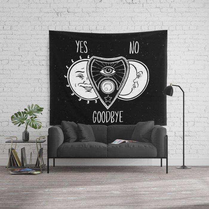 ouija board wall tapestryjamieleonard | society6