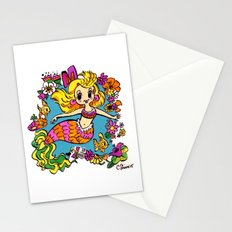 Summer Party Mermaid Stationery Cards