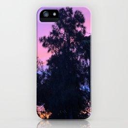 Pretty purple/pink/orange sunset sky iPhone Case