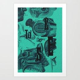 to see... Art Print