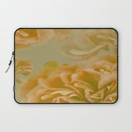 Beatiful Peony Flowers Soft Color Tones #decor #society6 #buyart Laptop Sleeve