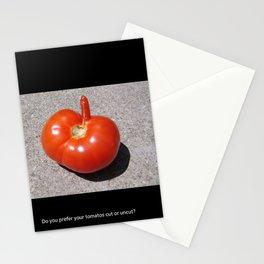 Horny Tomato Stationery Cards