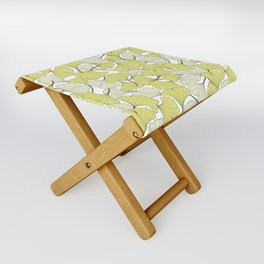 ginkgo leaves (special edition) Folding Stool