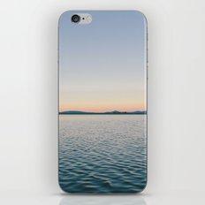 Sunset sea landscape iPhone & iPod Skin