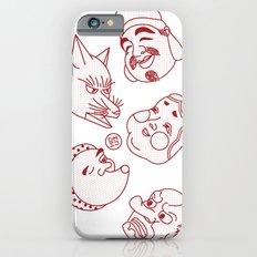 Japanese Masks Slim Case iPhone 6s