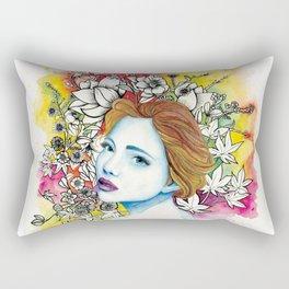 Autumn Queen Rectangular Pillow