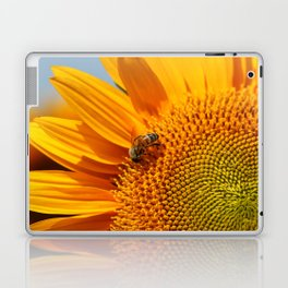 Sunflower & Bee Laptop & iPad Skin