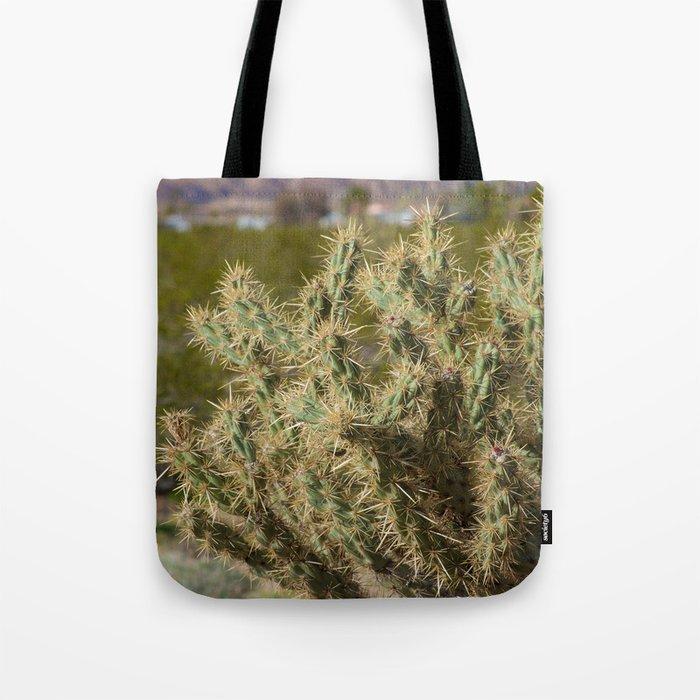 Winter Cactus Tote Bag