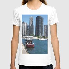 Chicago Fire Department, Chicago Shoreline, Skyline T-shirt