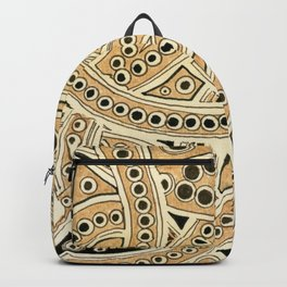 Golden Ribbons Backpack