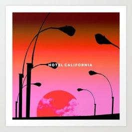 Hotel California Art Print
