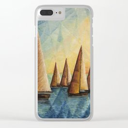 DoroT No. 0014 Clear iPhone Case