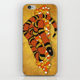 Mexican Candy Corn Snake iPhone Skin