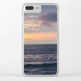 Rock steady Clear iPhone Case