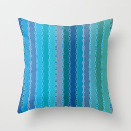 Multi-faceted decorative lines 7 Throw Pillow