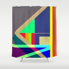 DASHING by Kimberly J Graphics Shower Curtain