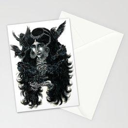 """Nine Blackbirds""  Stationery Cards"