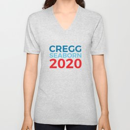 CJ Cregg Sam Seaborn 2020 / The West Wing Unisex V-Neck