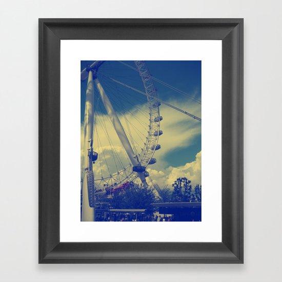 London Eye III Framed Art Print
