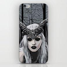 Wild witch iPhone & iPod Skin