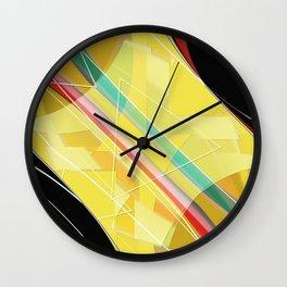 Pattern 2018 006 Wall Clock
