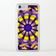 Mandala of Happiness Clear iPhone Case