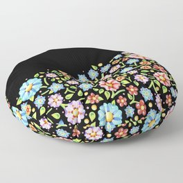 Millefiori Floral Horizon Floor Pillow