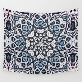 Textured Kaleidoscope Wall Tapestry