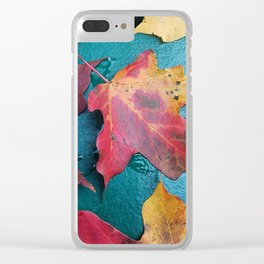 WithrowLeaves Clear iPhone Case
