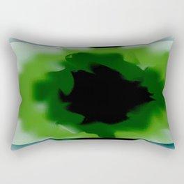 Unfurled Beryl Rectangular Pillow