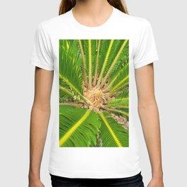 Palm leaves in Jeju island, Korea. T-shirt