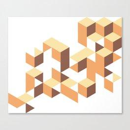 triangels  Canvas Print