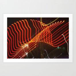 Motion Lights Art Print