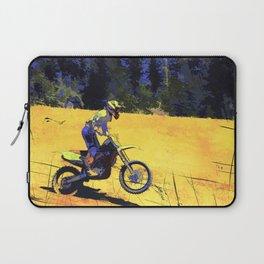 Riding Hard - Moto-x Champion Laptop Sleeve