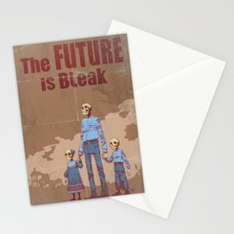 The Future is Bleak Propaganda Stationery Cards