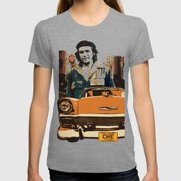 Retro Cuba design with car & Che Guevara T-shirt