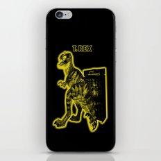 Electric Warriosaurus iPhone & iPod Skin