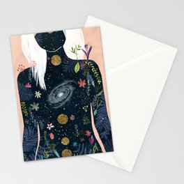 Intern magician Stationery Cards