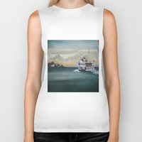 istanbul Biker Tanks featuring Ferry İstanbul by ArtSchool