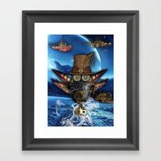 Steampunk Mechanics Framed Art Print