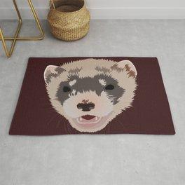 Cute Ferret Rug