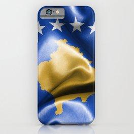 Kosovo Flag iPhone Case
