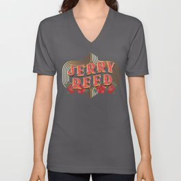 """Jerry Reed """"The Snowman"""" Unisex V-Neck"""